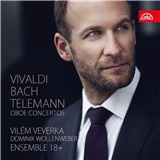 Vilem Veverka, Dominik Wollenweber, Ensemble 18+ - Vivaldi, Bach, Telemann - Oboe Concertos