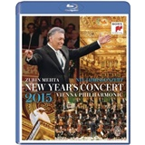 Wiener Philharmoniker, Zubin Mehta - New Year's Concert 2015 (Blue-ray)